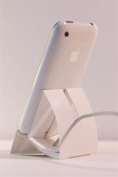 Origami Iphone Stand - iphone paper dock dessine moi un objet
