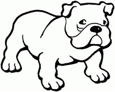 coloring pages of bulldogs animal coloring pages for kids bulldog