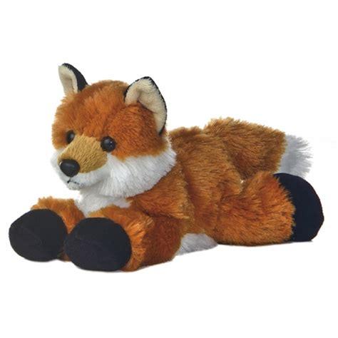 stuffed animals foxxie the stuffed fox plush animal by