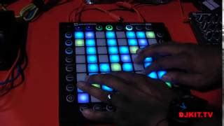 novation launchpad pro performance pad controller