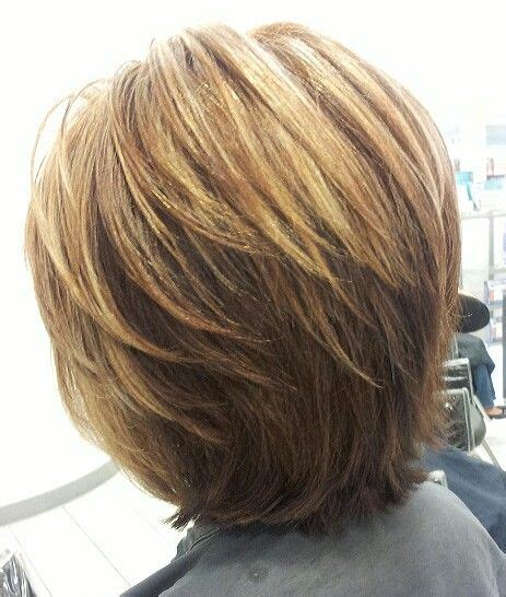 medium length textured bob the layered bob looks good at both the short and medium
