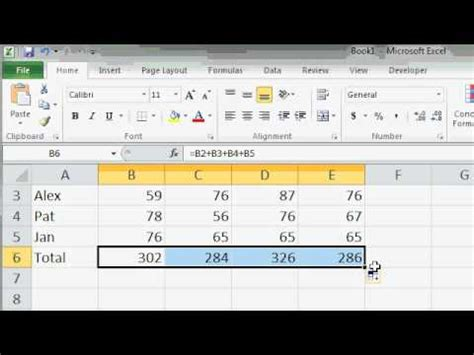 download pattern fill excel 2010 microsoft excel 2010 autofill lesson youtube