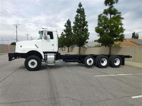 heavy duty volvo trucks 1999 volvo wg64 heavy duty cab chassis truck for sale