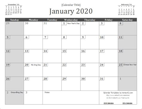 printable planner vertex 2020 calendar templates and images