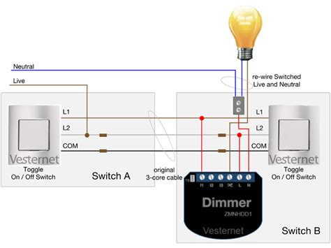 dimmer switch wiring diagram l1 l2 free wiring