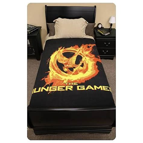 hunger games comforter set hunger games movie mockingjay polar fleece bed throw