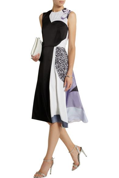 Friday Afternoon Dresses From Net A Porter by 3 1 Phillip Lim Printed Satin Crepe Dress Net A Porter