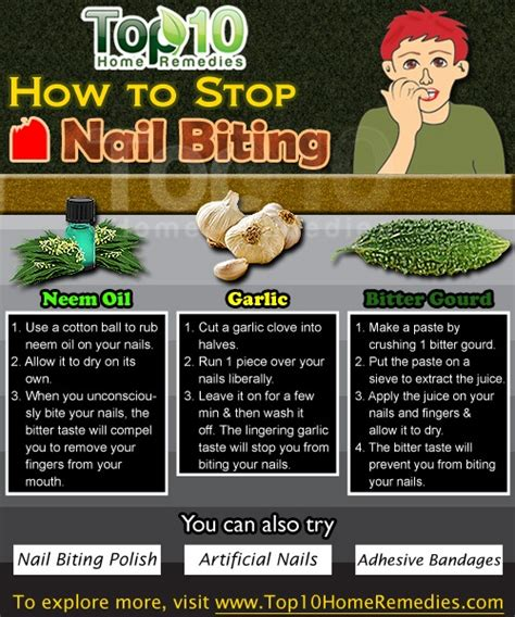 how to to stop biting how to stop nail biting top 10 home remedies