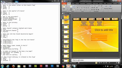 create a quiz in powerpoint powerpoint how to make an advanced interactive quiz 1 2
