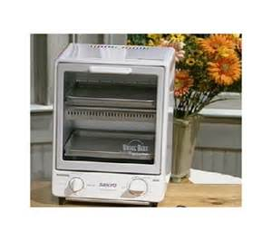 Sanyo Toaster Oven Sanyo Space Saving Toasty Oven Qvc