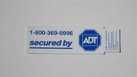 Adt Window Stickers