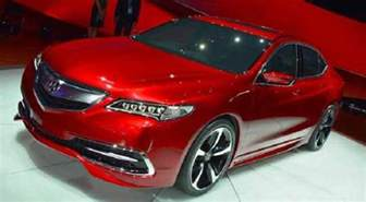 Acura Price 2016 Acura Tlx Redesign Changes And Price