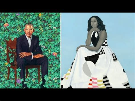 portrait of a (first) lady: the obamas unveil new