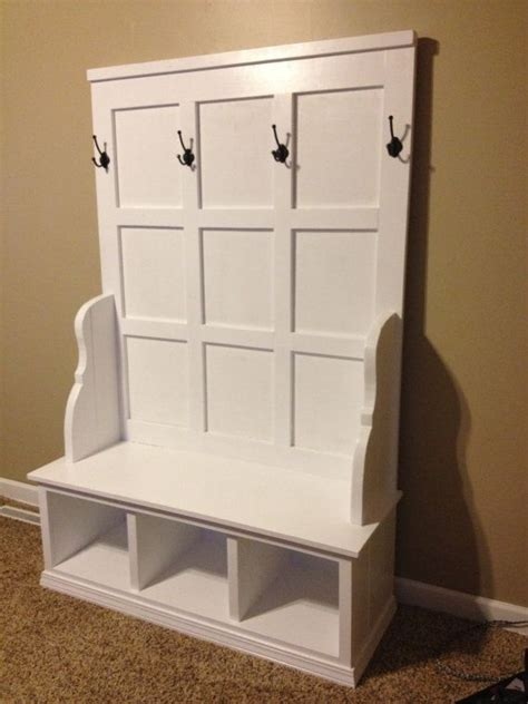 entryway backpack storage custom wood cubby bench for mudroom entryway bench or