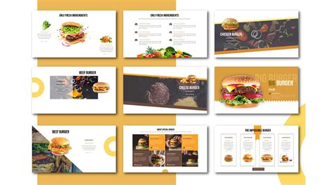 Free Powerpoint Templates Restaurant Presentation
