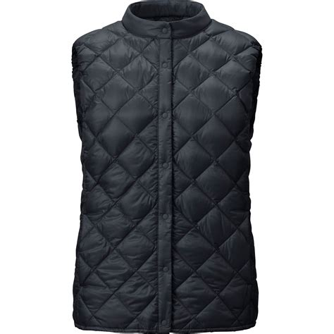 Quilted Vest by Uniqlo Ultra Light Compact Quilted Vest In Black Lyst