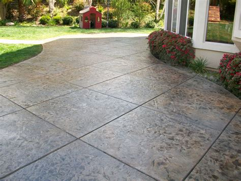 Price For Sted Concrete Patio Marvelous 1000 Images Concrete Backyard Patio