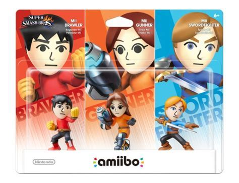 "Mii Fighters amiibo Triple Pack to Arrive as Toys ""R"" Us"