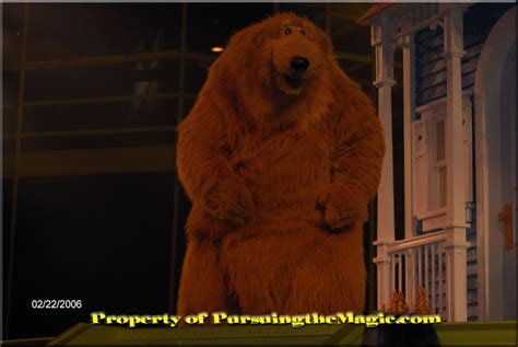 bear in house pursuing the magic 100 things to do in disney 94