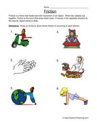 friction worksheet 1 discover more ideas about science