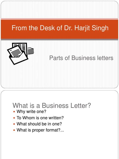 Parts Of A Business Letter Quizlet parts of business letters docshare tips