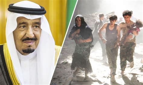 Arbiah Syari saudi arabia one of the least generous countries to give aid to war ravaged syria world news