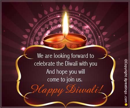 Diwali Invitation Card Templates by Diwali Invitation Ideas For Celebrations From Dgreetings