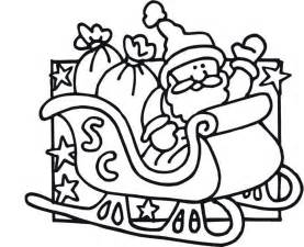 santa claus sleigh coloring pages printable santa claus coloring pages coloring me