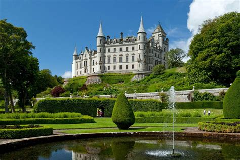 Modern Cabins by 16 Fairytale Castles In Scotland Visitscotland