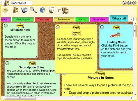 notes software post it 174 software notes lite software informer screenshots