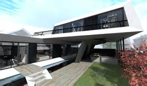 modern home design concepts is house a futuristic modern concept designed by steep