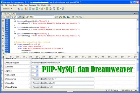 tutorial video for php tutorial membuat web php dan mysql urbandistro