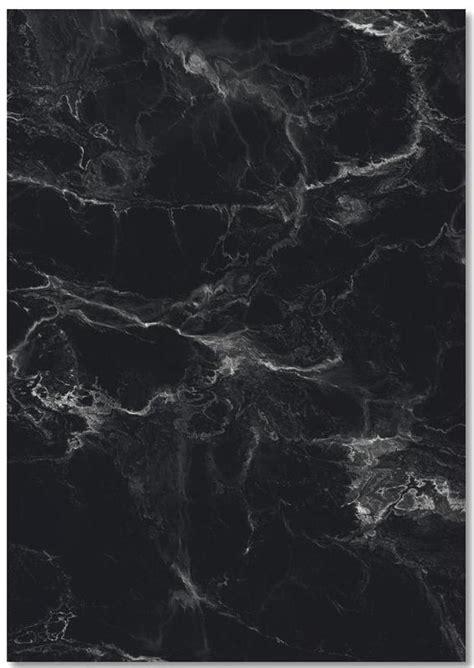 schwarzer marmor als premium notizbuch von amy kurt juniqe