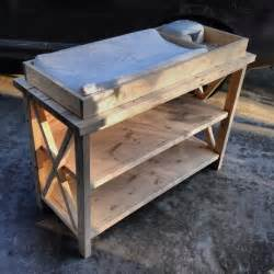 Unfinished Changing Table Free Baby Changing Table Woodworking Plans