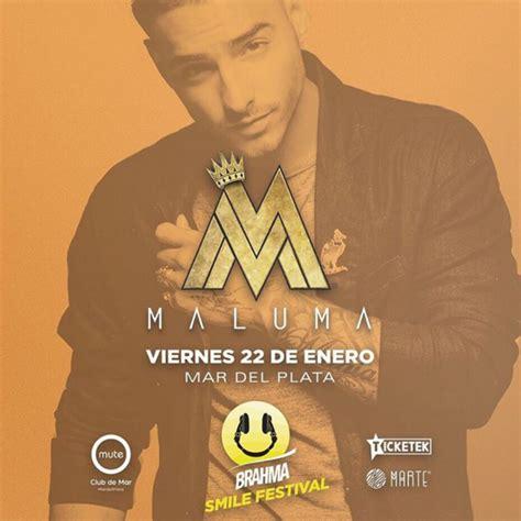 entrada para maluma argentina 2016 concierto de maluma en mar de plata argentina 22 de
