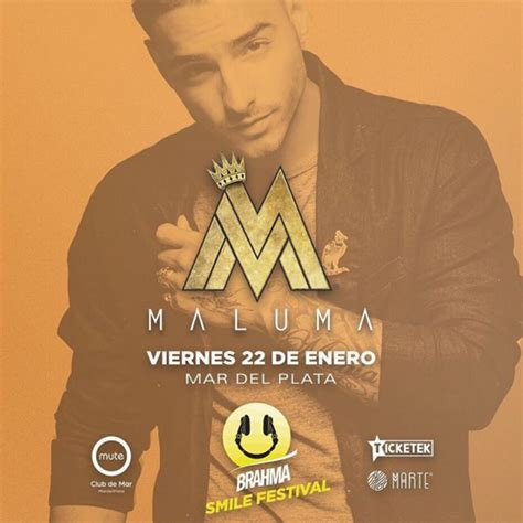 maluma conciertos 2016 argentina concierto de maluma en mar de plata argentina 22 de