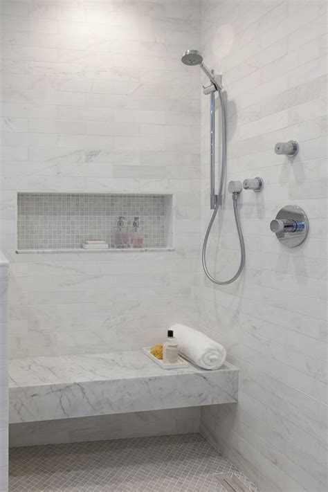bathroom white and gray small bathroom dhanda32bit plus curbless shower with seat and handheld christine sheldon