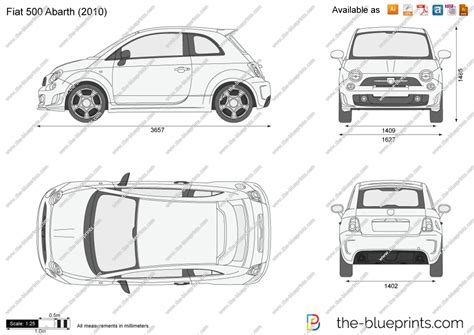 500 Sketches Pdf by Fiat 500 Abarth Vector Drawing