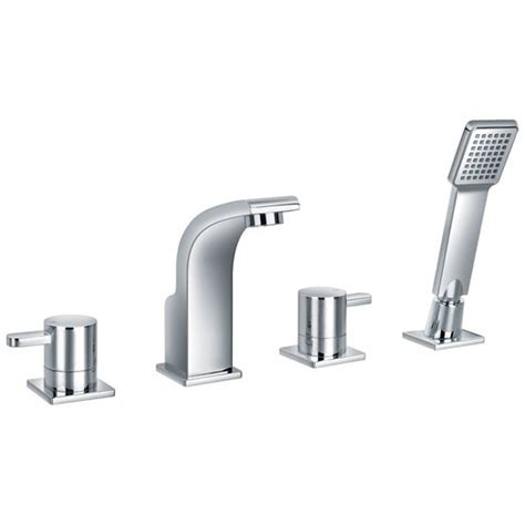 4 Hole Bath Shower Mixer essence four hole bath shower mixer