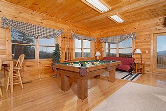 branch brook pool tables after all pine mountain 840 3 bedroom cabin in pigeon