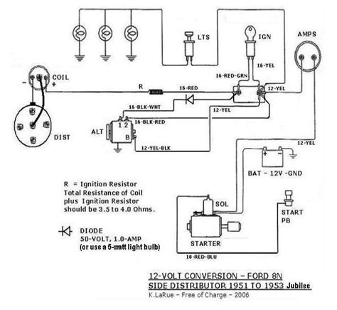 1954 ford 8n wiring diagram schematic wiring diagram