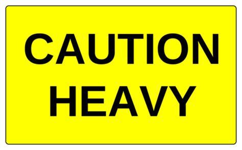 Caution Heavy Label Label Templates Ol6675 Onlinelabels Com Caution Label Template