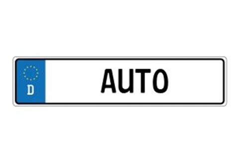 Auto Kennzeichnen by Autokennzeichen In Deutschland Aus Welcher Stadt Kommt Es