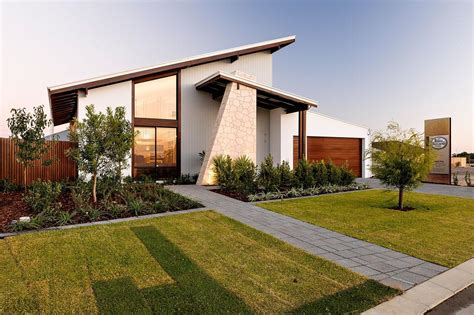 a stunning modern house design with stylish porch and