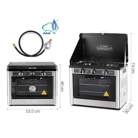 portable gas oven and cooktop new portable lpg gas oven stove cooktop grill bake burner