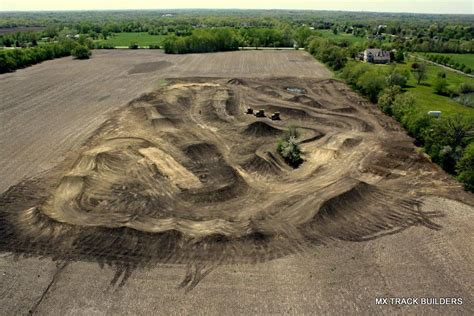 how long is a motocross motocross track something we plan to build in our home