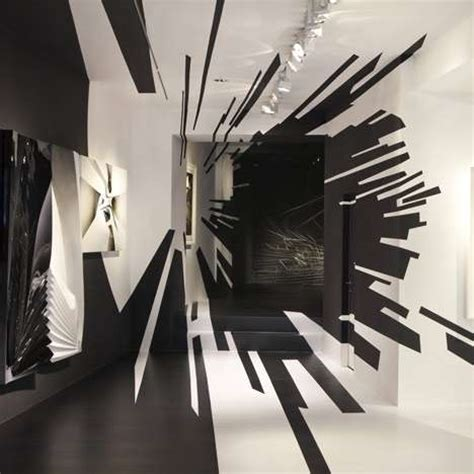 art design zurich wormhole illusion walls galerie gmurzynska zurich