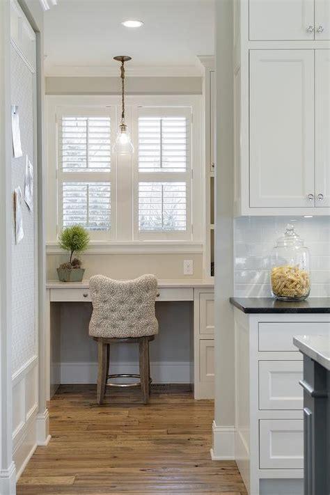 walk  pantry  desk  plantation shutters cottage