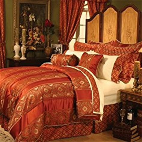 red and gold bedroom room in a bag sets from target bedding pillows textiles