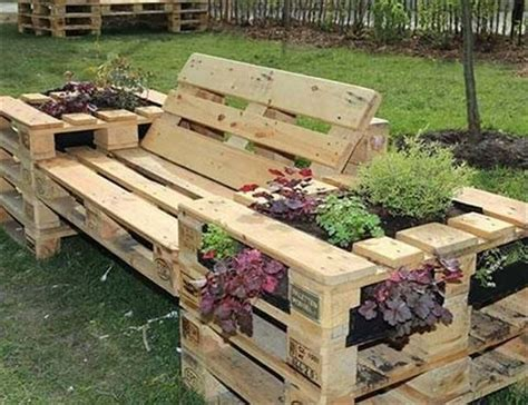Garden Bench Paint by Amazing Diy Wooden Pallet Planter Ideas Ideas With Pallets